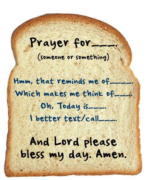 prayer sandwich