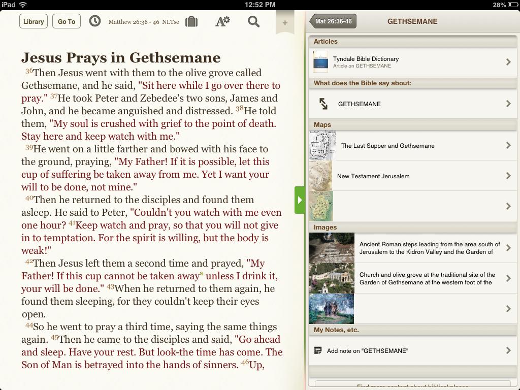 Gethsemaneresults