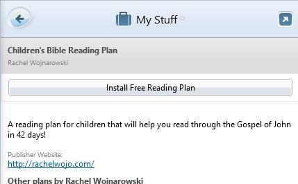 Reading PlanPC