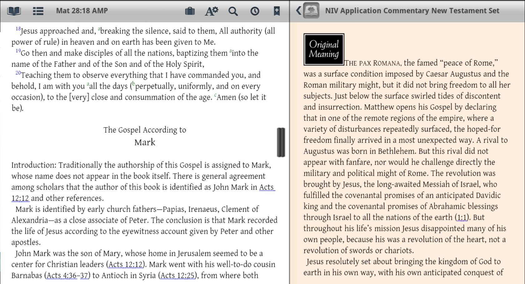 Niv study bible pc software