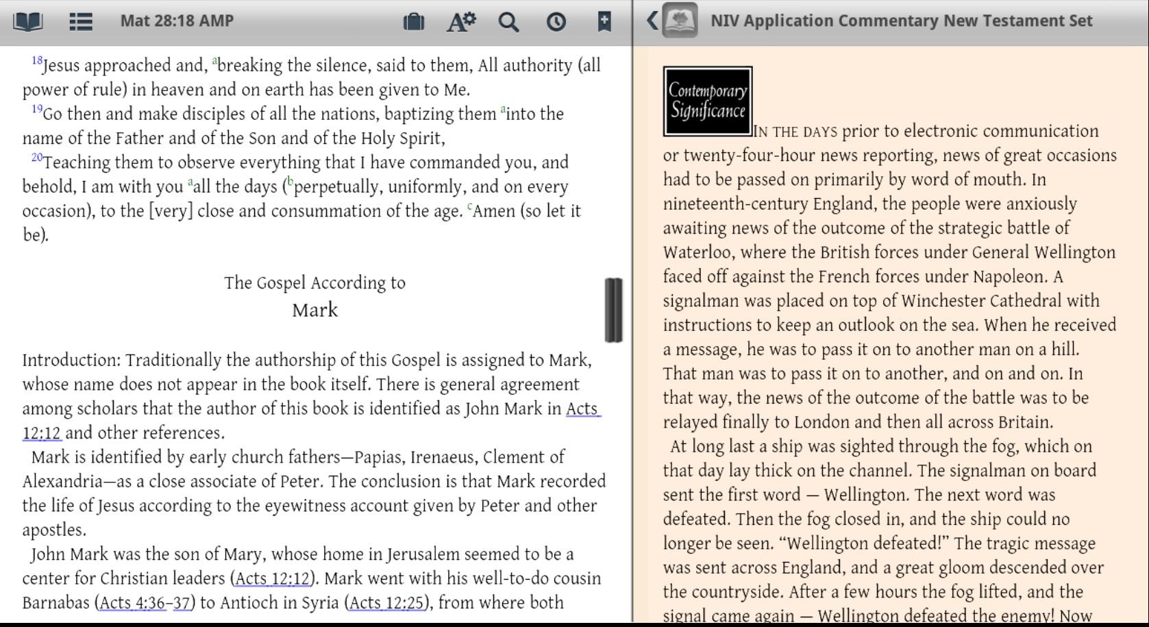 free download mobile bible niv version
