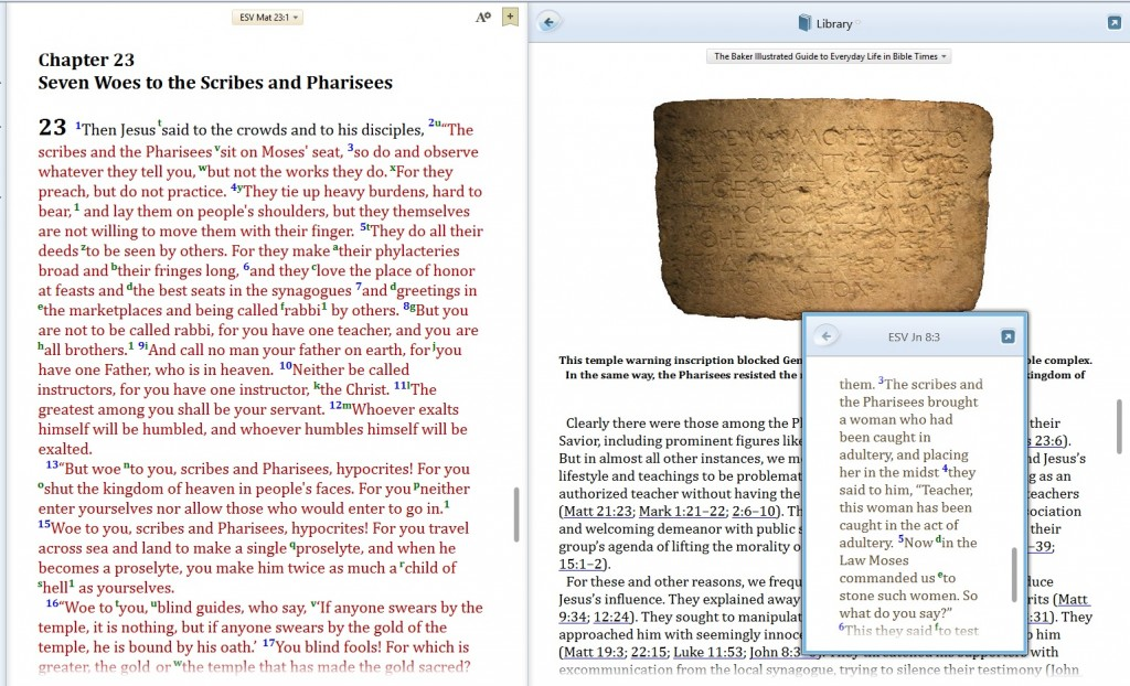 scripture reference popup