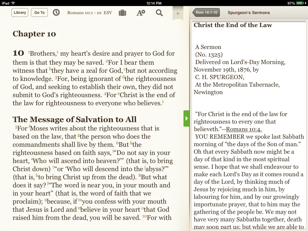 Sermons in the Resource Guide