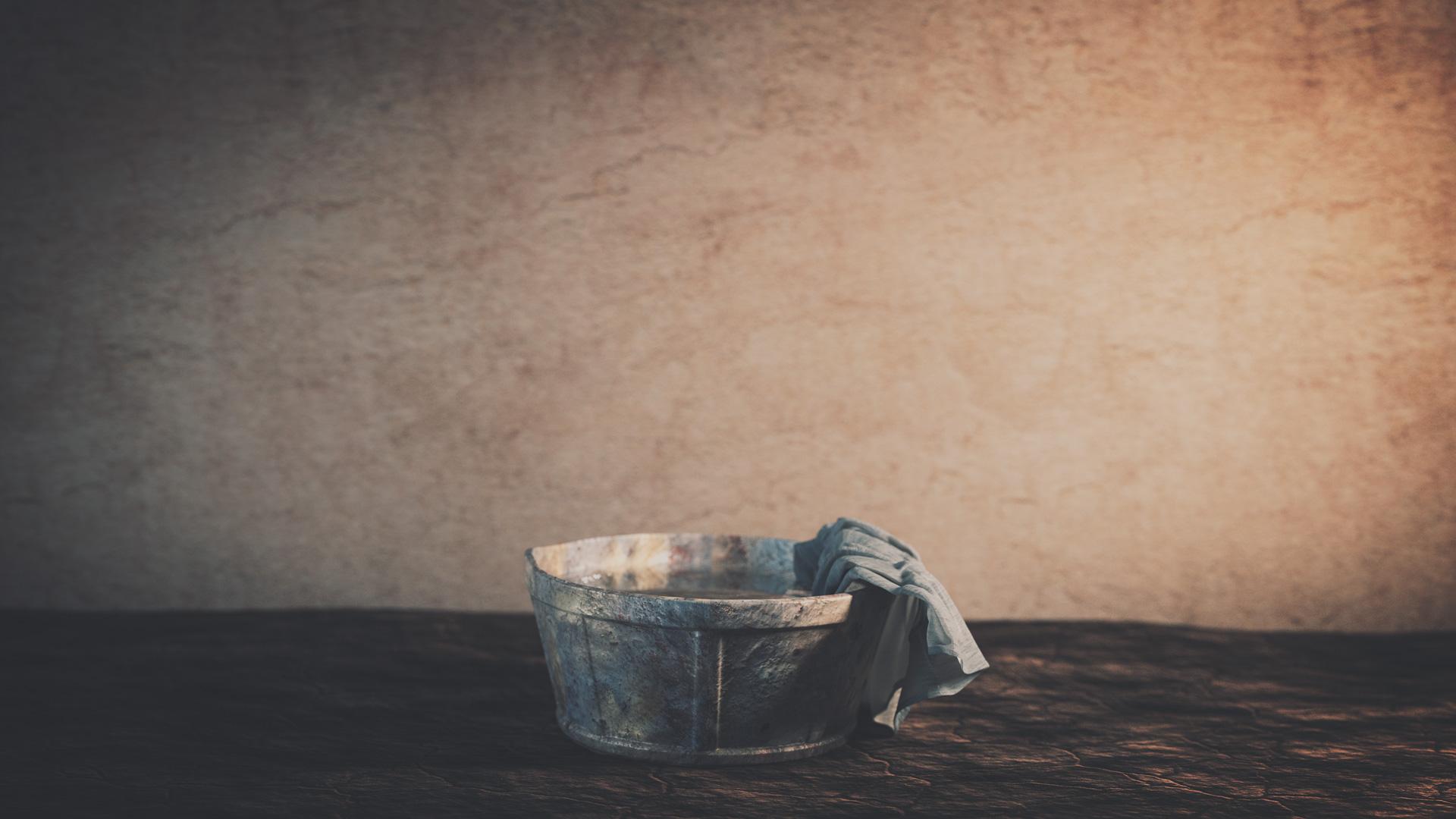 Jesus Washed Judas' Feet - Olive Tree Blog