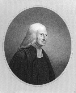 John Wesley (1703-1791). Engraved by J.Pofselwhite and published