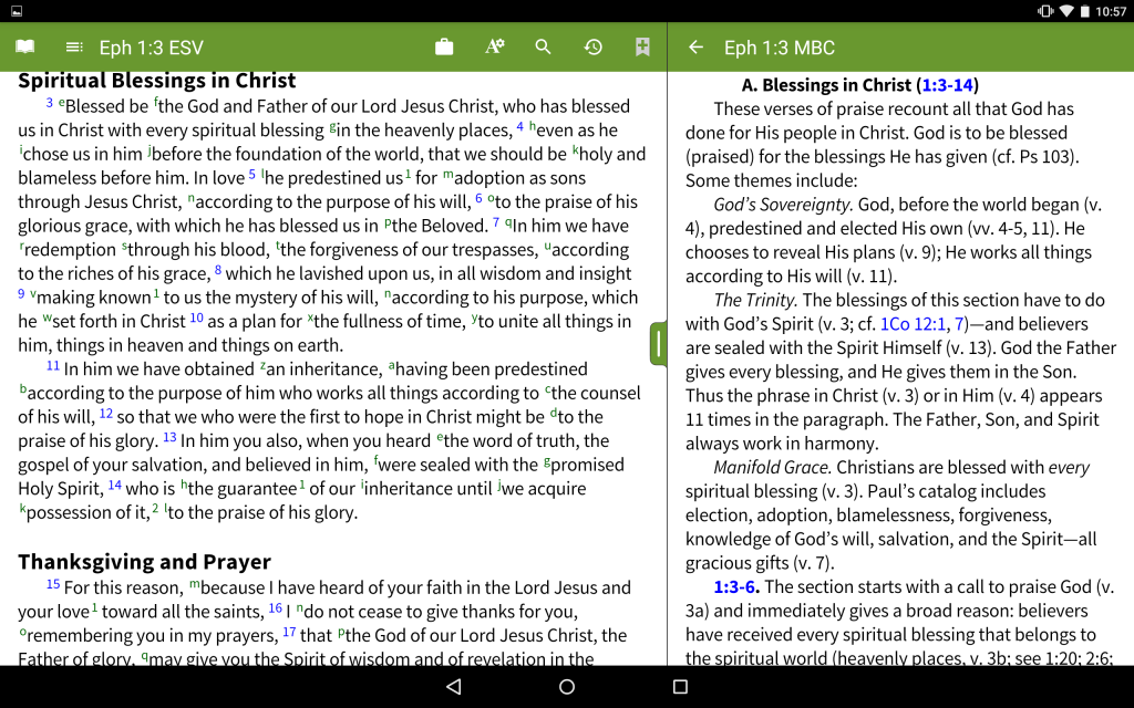 Moody Bible Commentary - Commentary Text