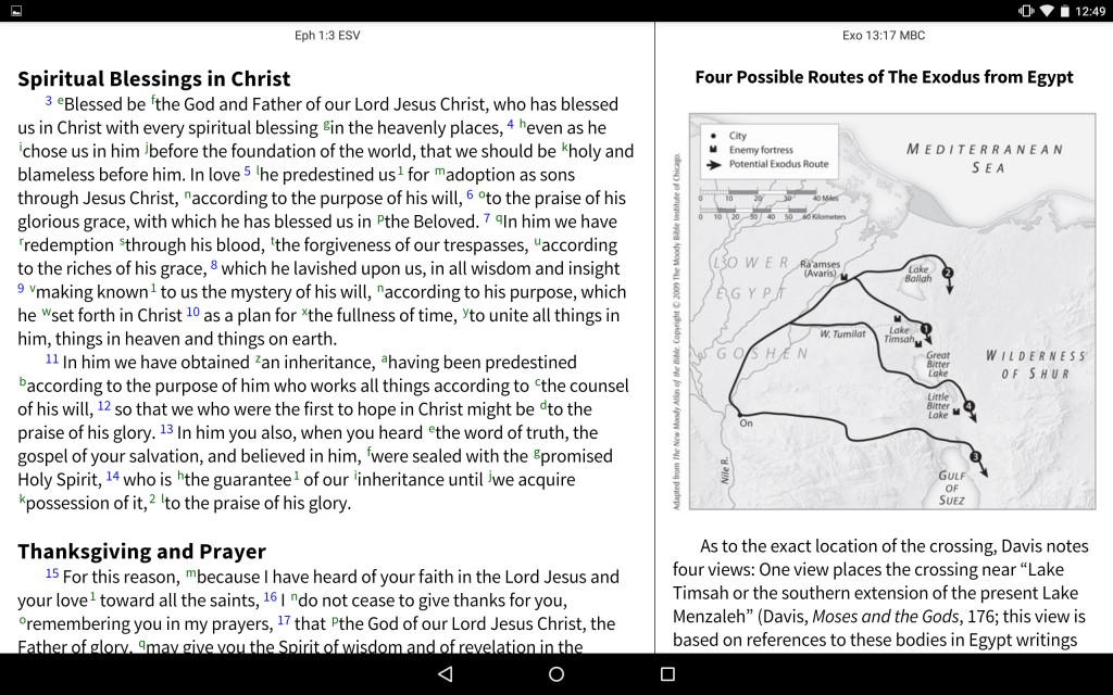 Moody Bible Commentary - Maps