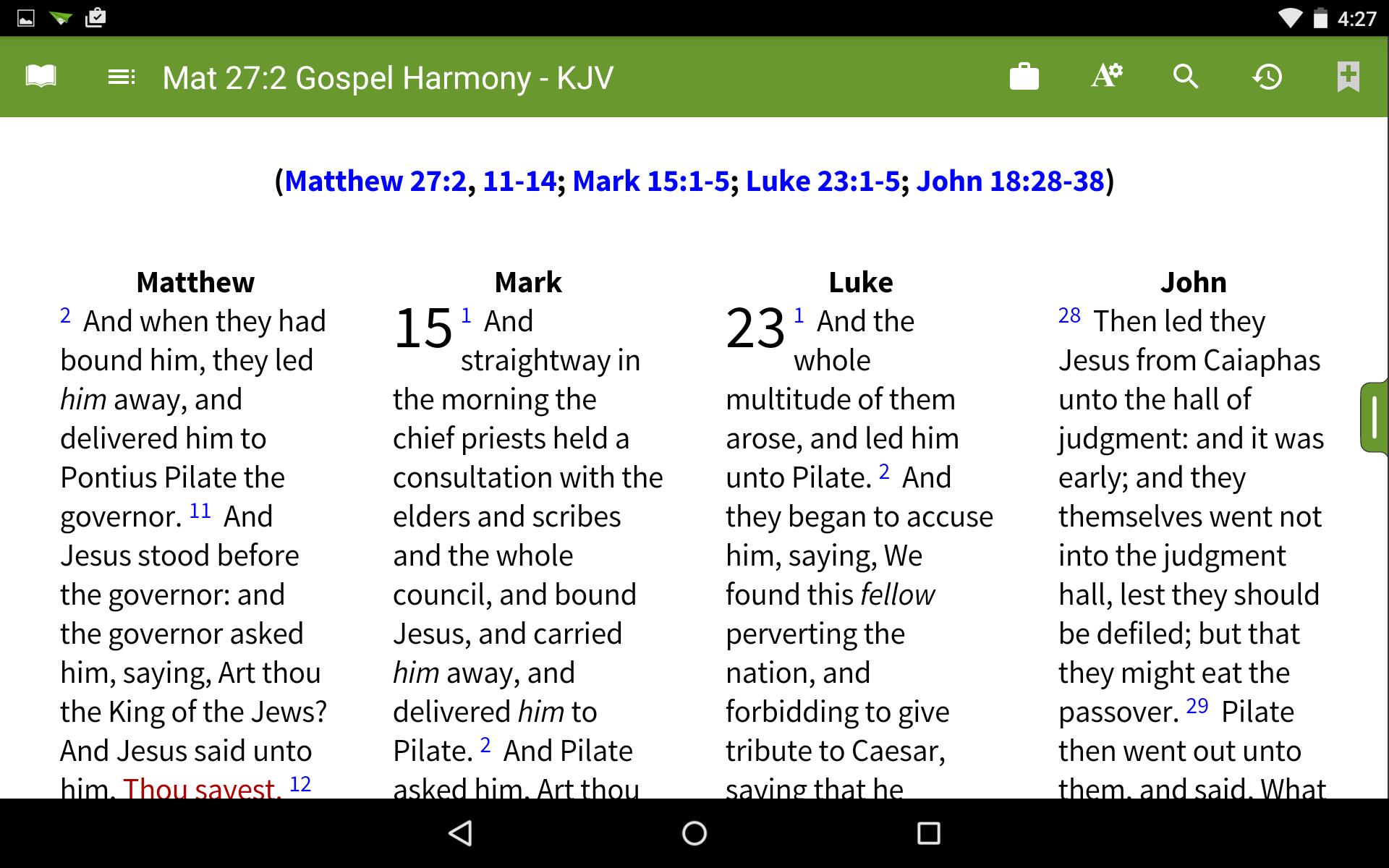 Harmony of the Gospels - Holman Bible Dictionary - Bible ...