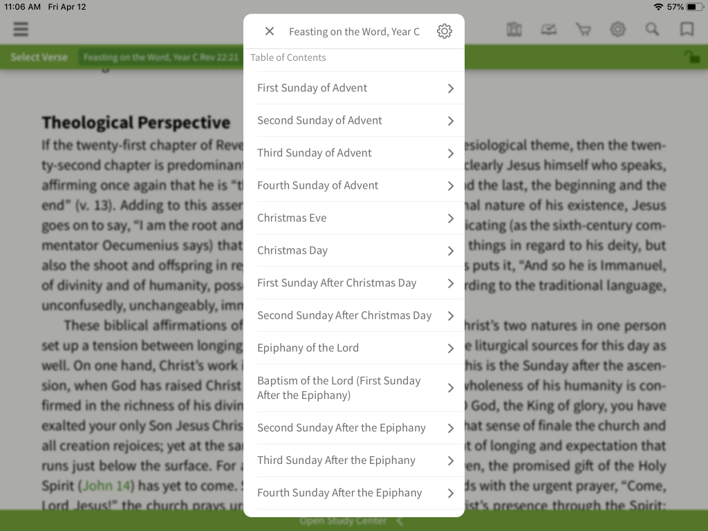 Look Inside: Feasting on the Word Commentary - Olive Tree Blog
