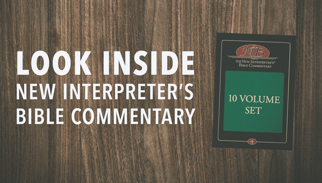 New Interpreter's Bible Commentary