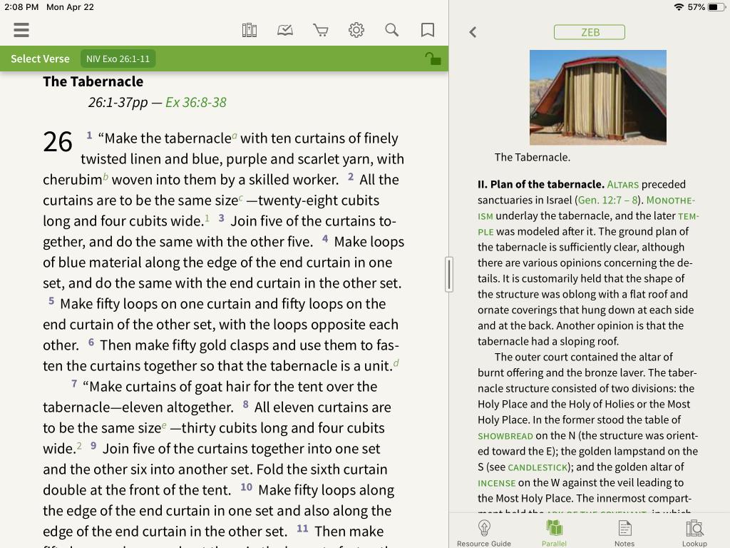 Zondervan Encyclopedia of the Bible in the Olive Tree Bible App