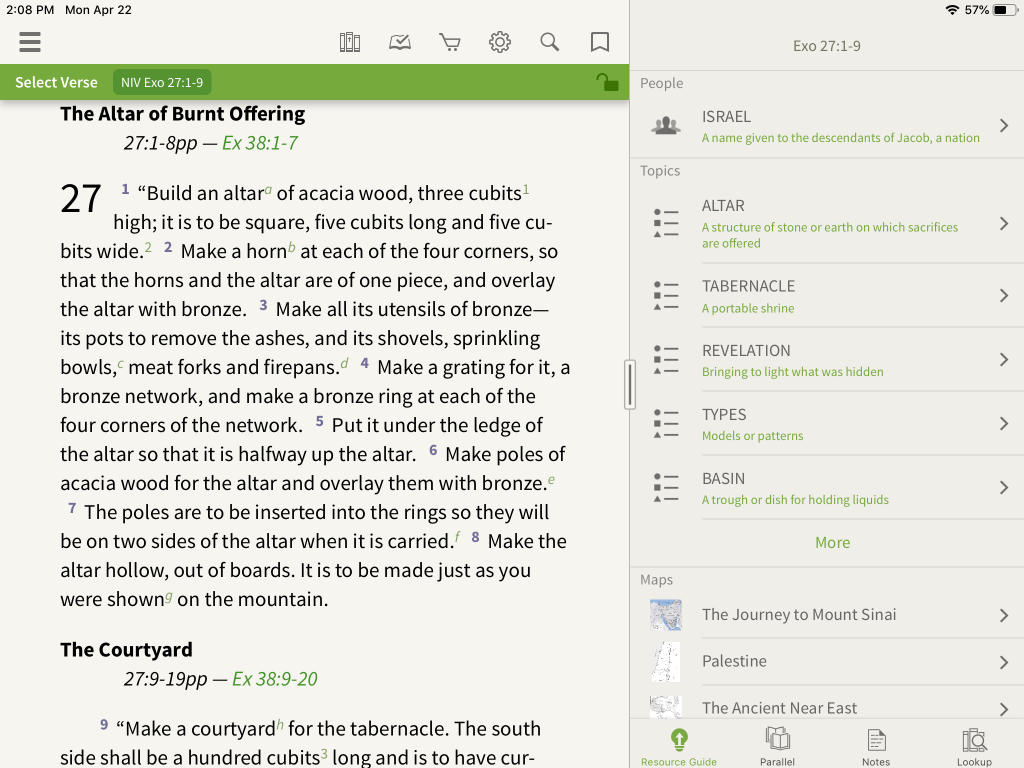 Zondervan Encyclopedia of the Bible in the Olive Tree Bible App 2