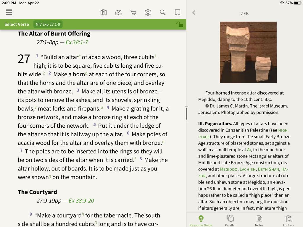 Zondervan Encyclopedia of the Bible in the Olive Tree Bible App 4
