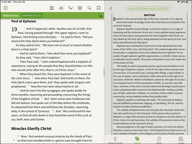 Look Inside: Reformation Study Bible Notes - Olive Tree Blog