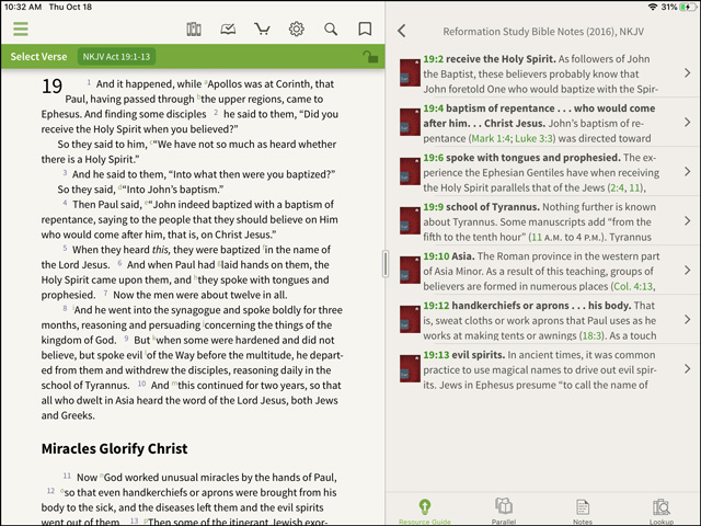 Reformation Study Bible Commentary