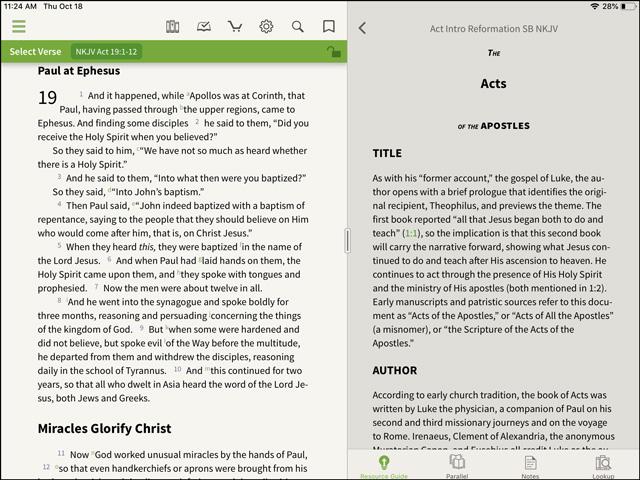 Reformation Study Bible Intro