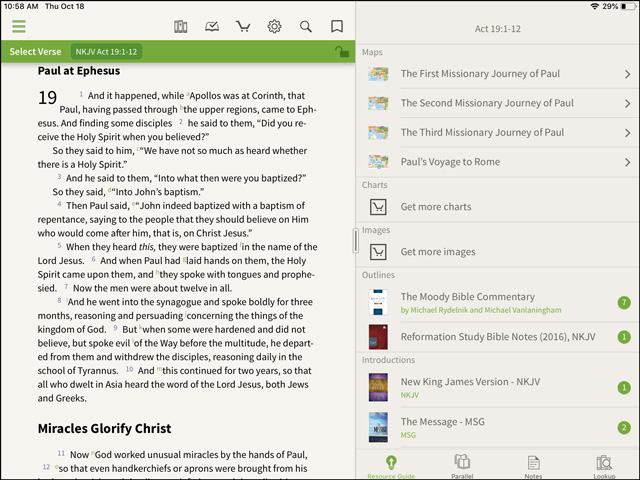 Reformation Study Bible Other Maps