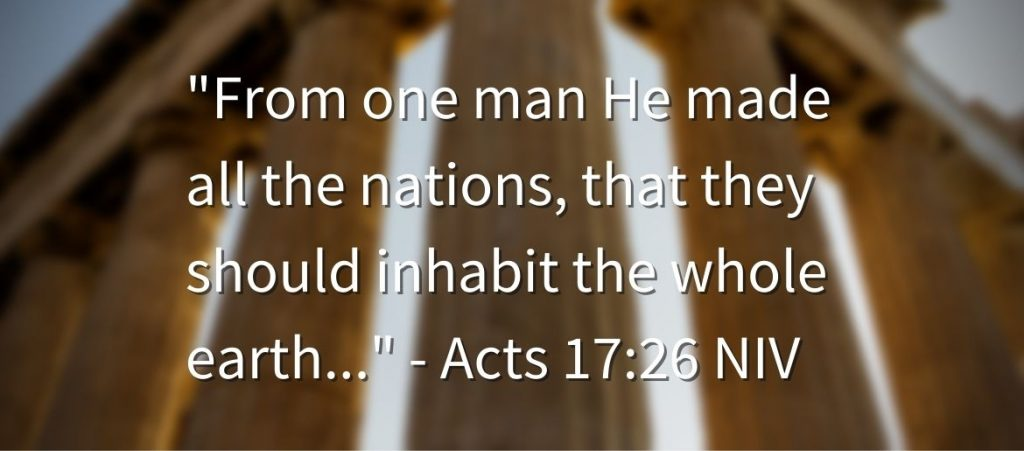 Acts 17:26 Bible times