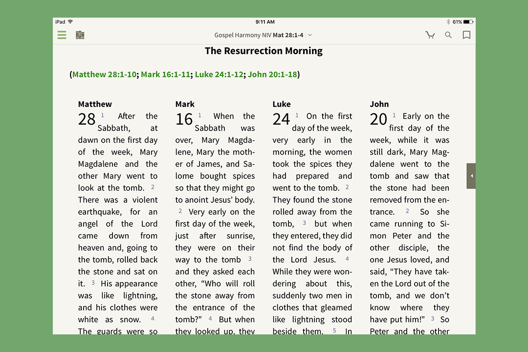 Read And Study The Bible In New Ways Olive Tree Blog