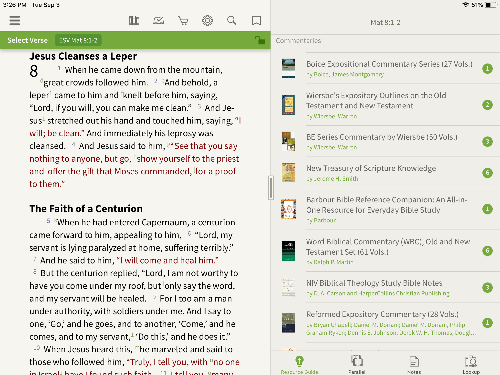 Reformed Expository Commentary in the Olive Tree Bible App