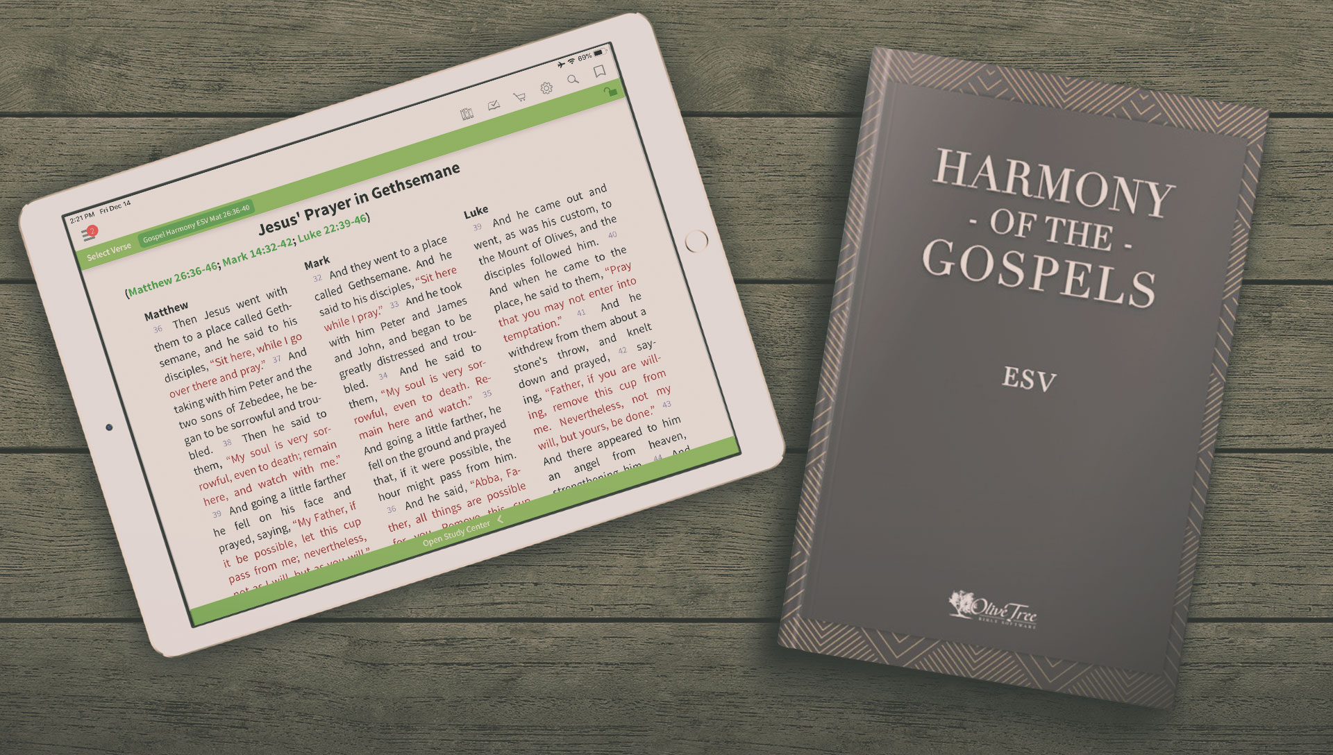 Using Gospel Harmonies - Olive Tree Blog