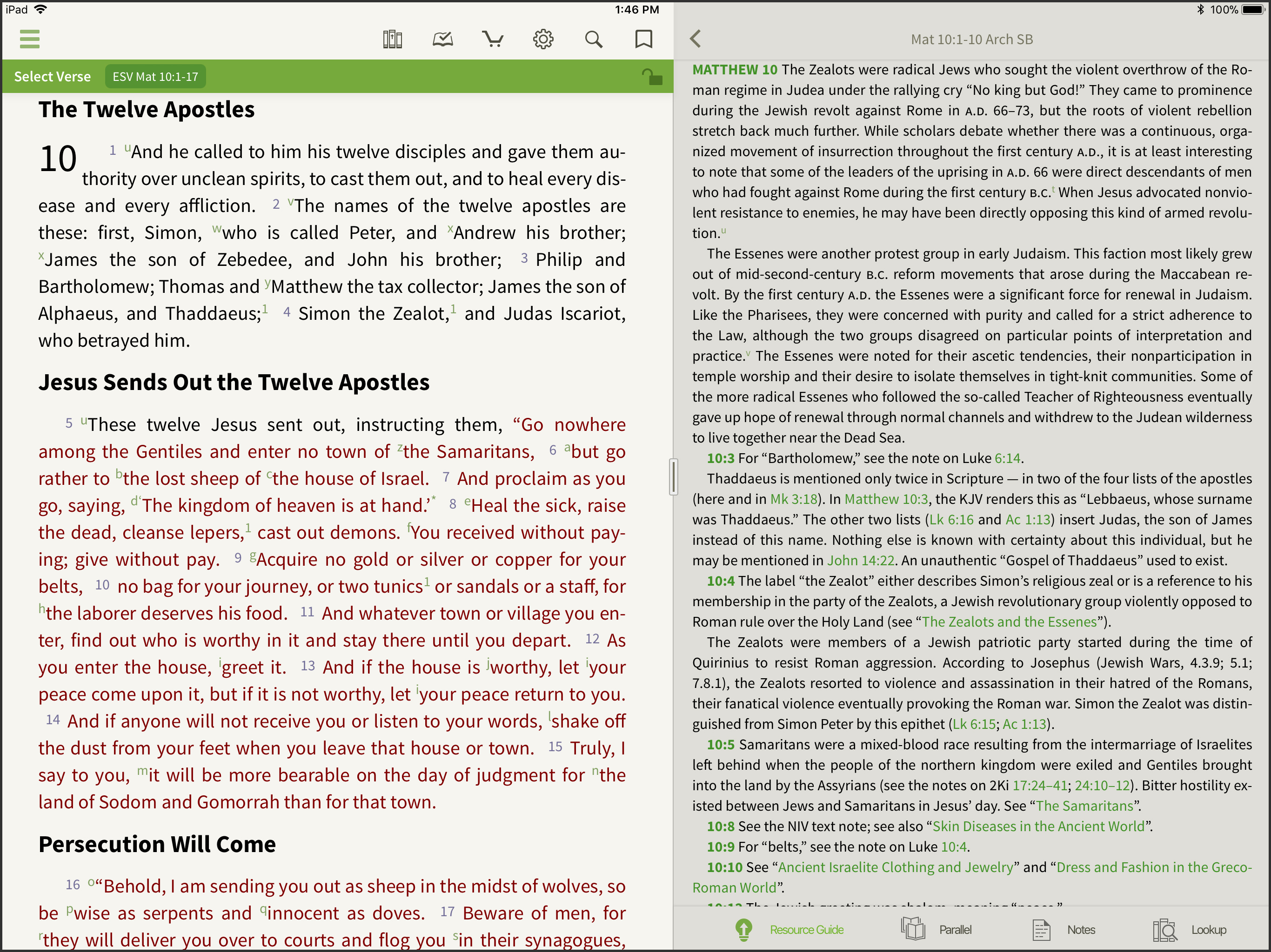 archaeology study bible commentary