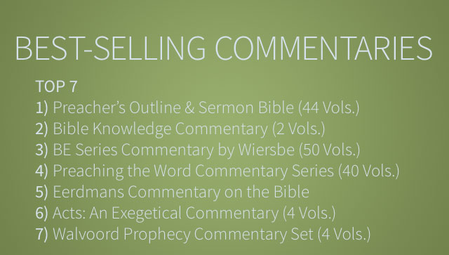 Customer feedback archives olive tree blog our most popular choice for year was the newly released preachers outline sermon bible posb old and new testament commentary set 44 vols fandeluxe Gallery