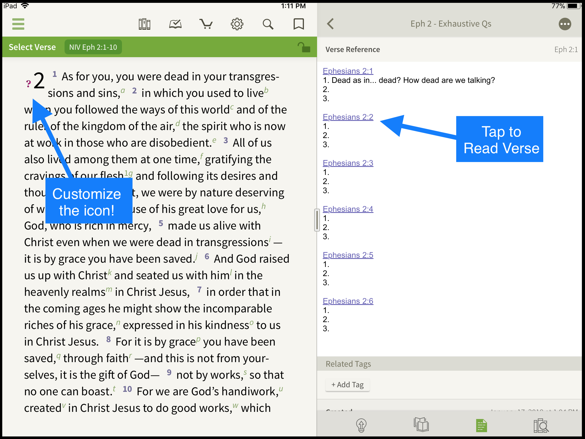 A Method to Help You Stop Skimming the Bible - Olive Tree Blog