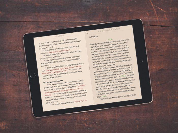 Study Bible Example 1