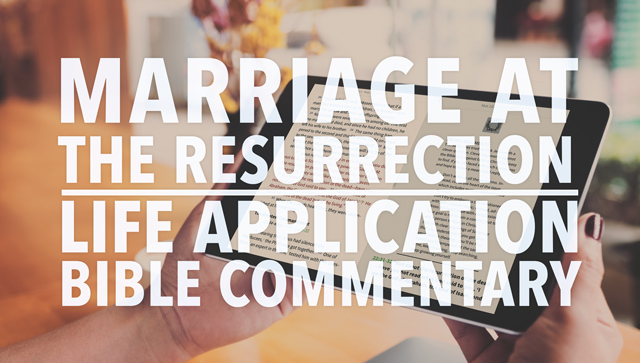 Marriage In Heaven Jesus Resurrection