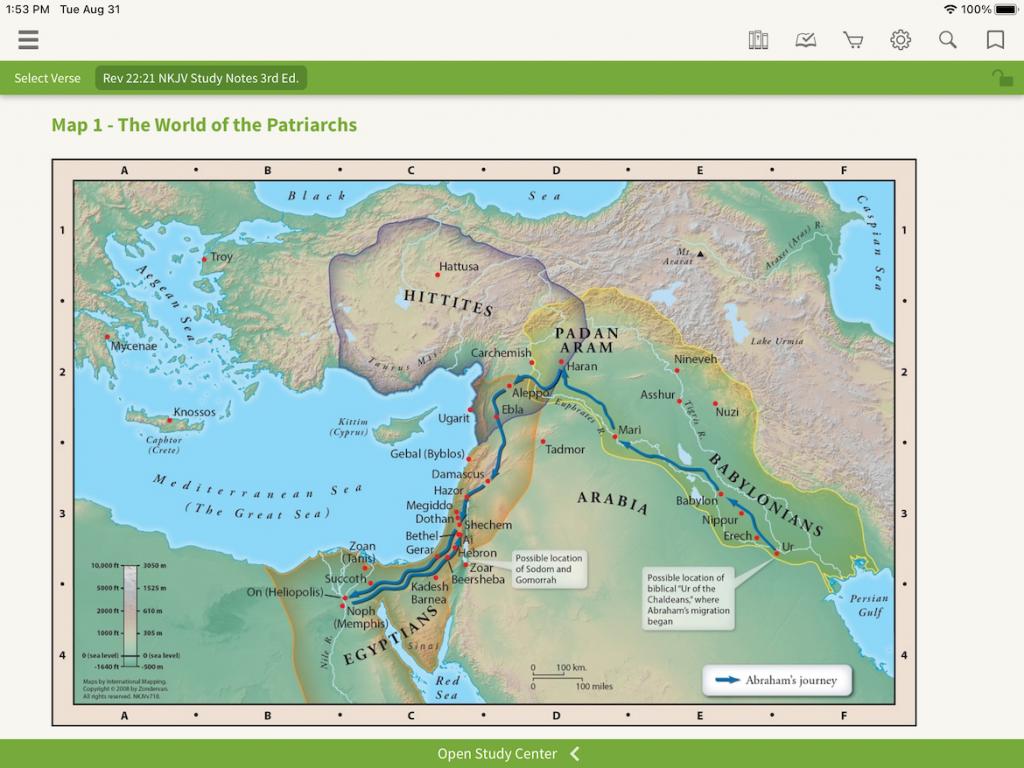 NKJV Nelson's Full-Color Maps