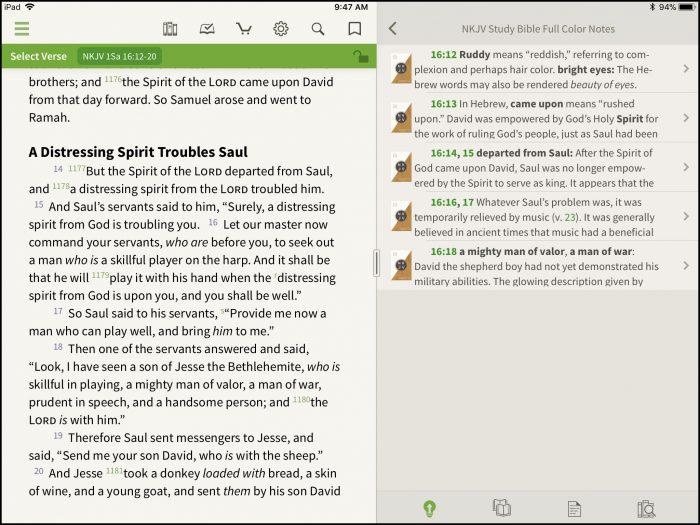 Look Inside: NKJV Study Bible Full Color Edition - Olive
