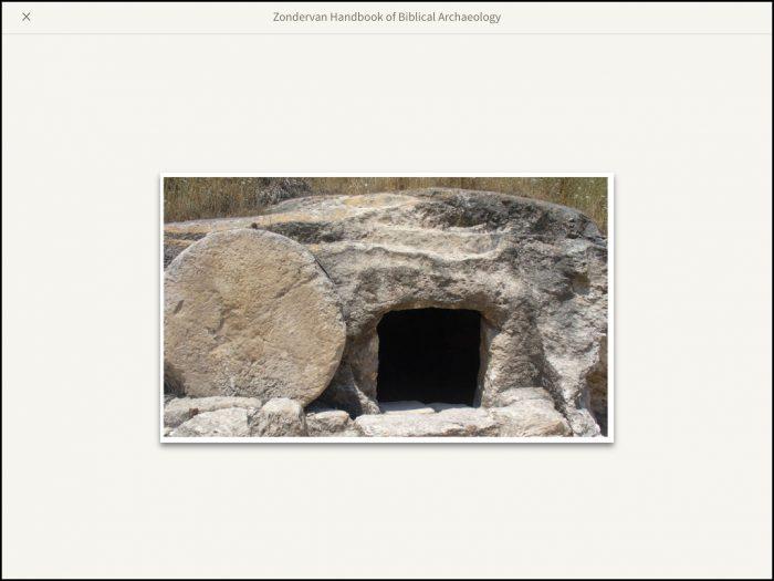 Stone tomb near Megiddo