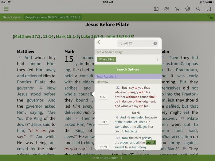 Using Gospel Harmonies - Olive Tree Blog