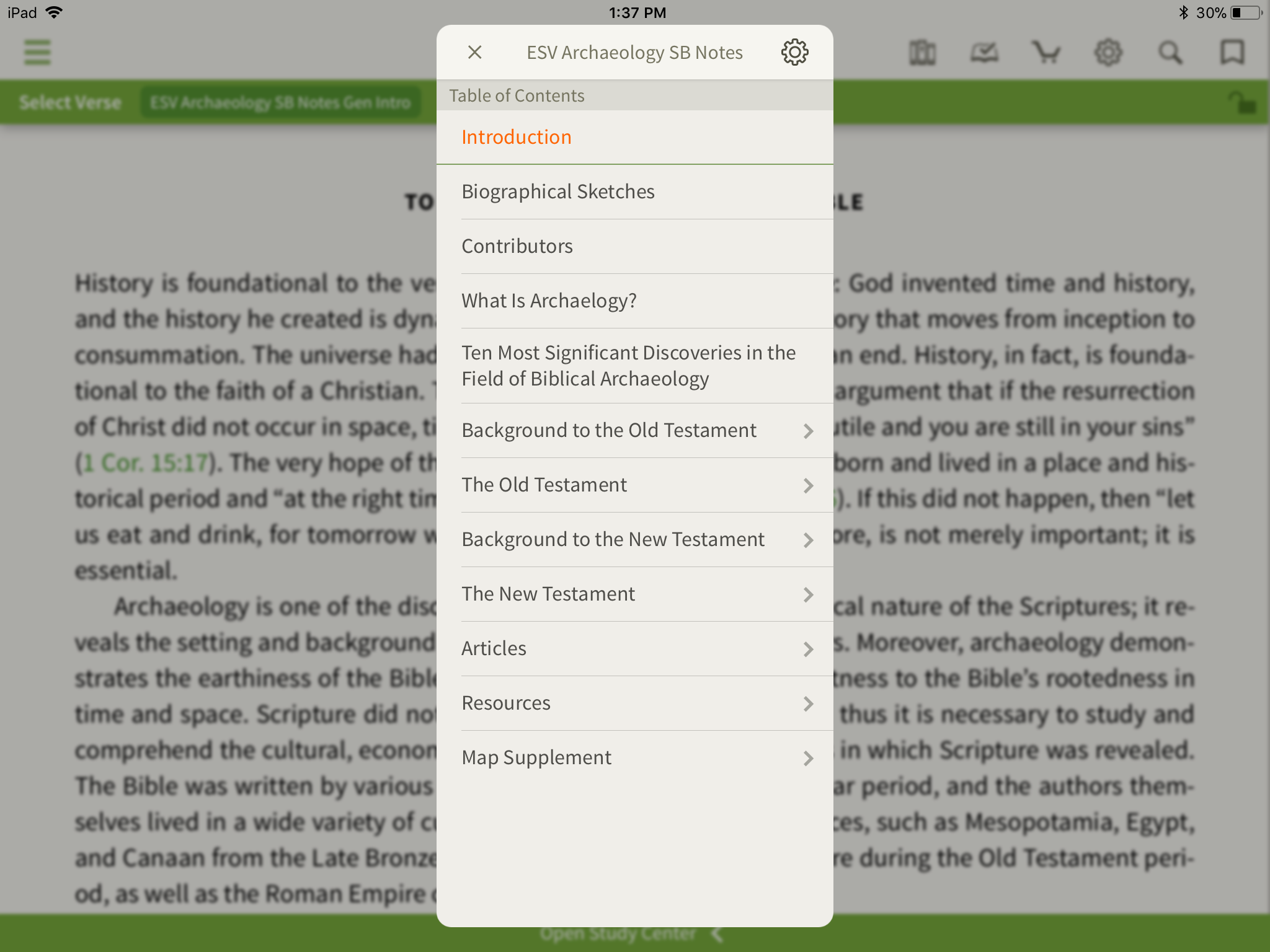 What's Inside an Archaeology Study Bible? - Olive Tree Blog