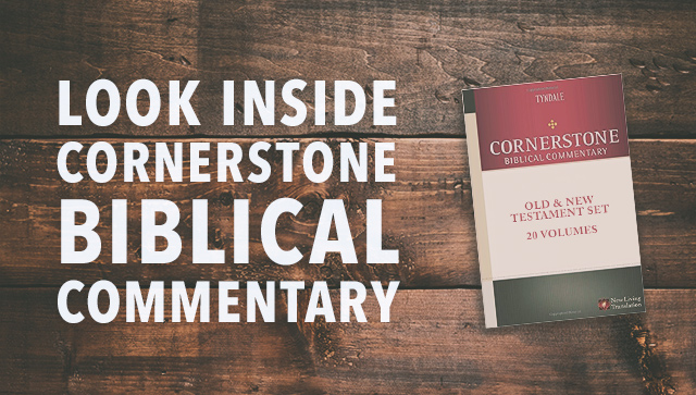 Look Inside Cornerstone Biblical Commentary