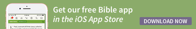 Olive Tree Bible App iOS