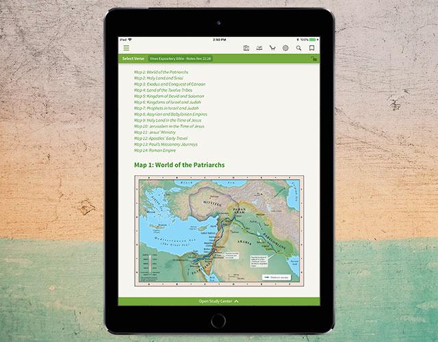Preaching Maps