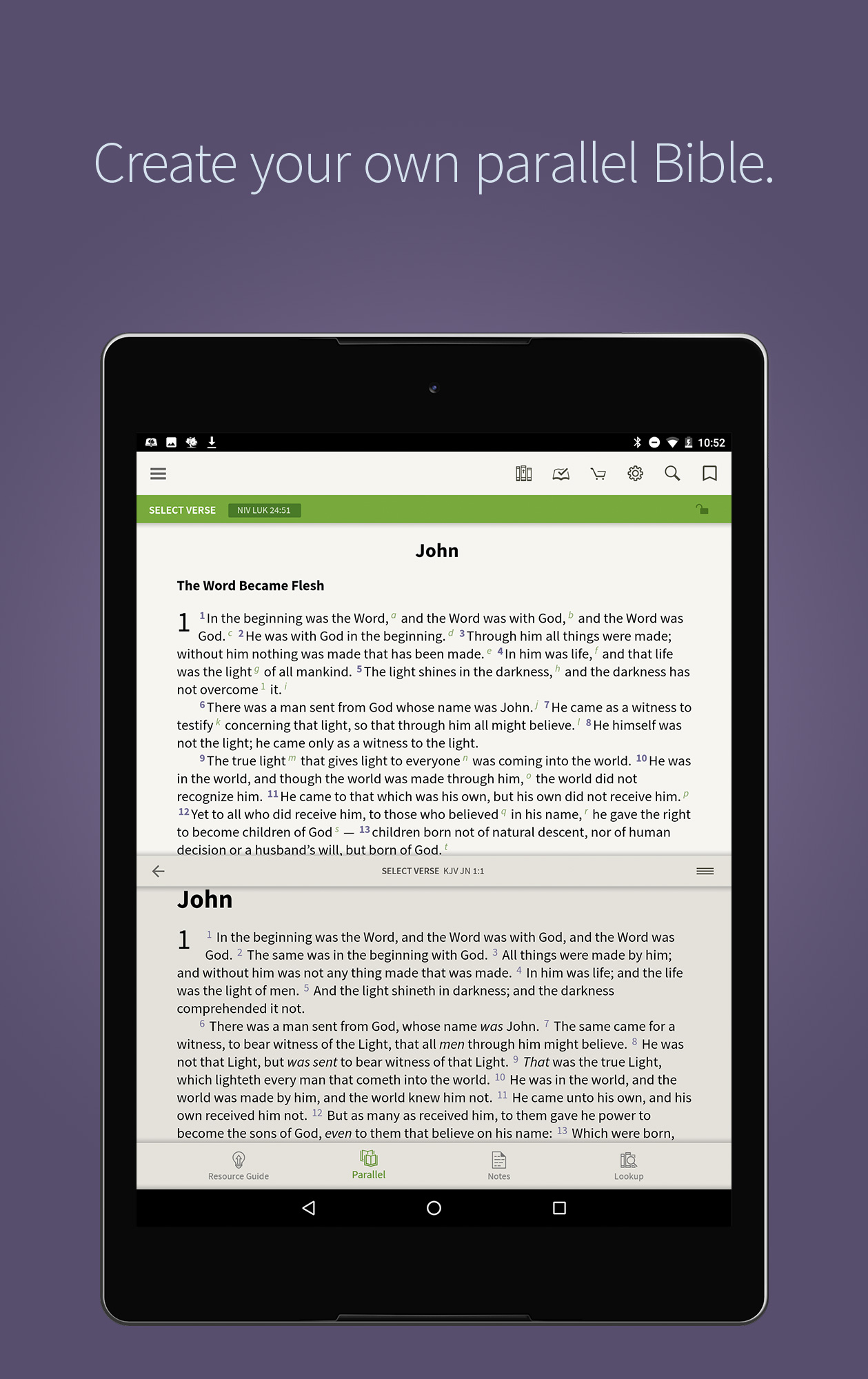 Olive Tree Bible App on Android - Olive Tree Blog