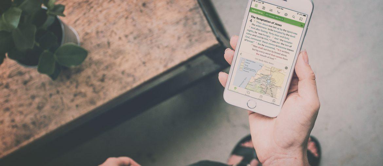 Olive Tree Bible iOS App