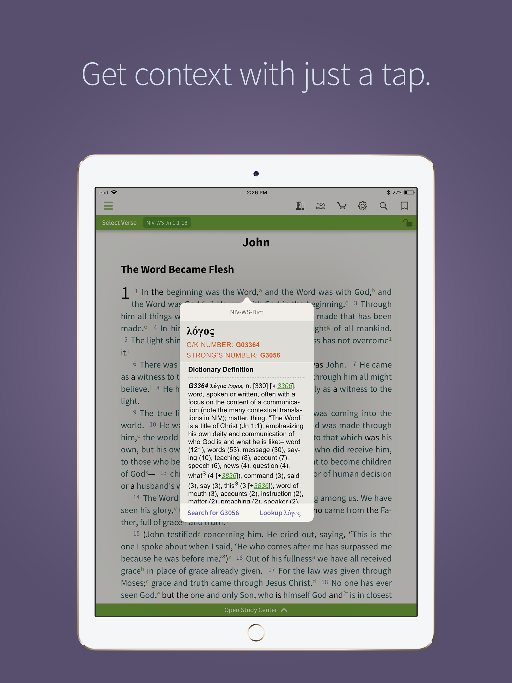 Olive Tree Bible App for iOS - Olive Tree Blog