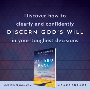 discern god's will sacred pace