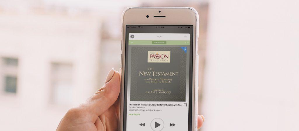 Digital Bible Study passion translation