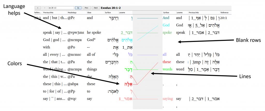 Olive Tree ESV Hebrew English interlinear app