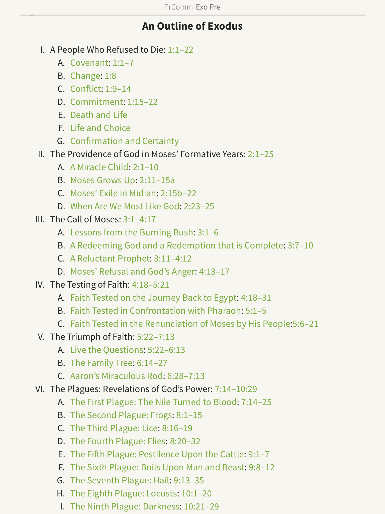 preachers Commentary outline