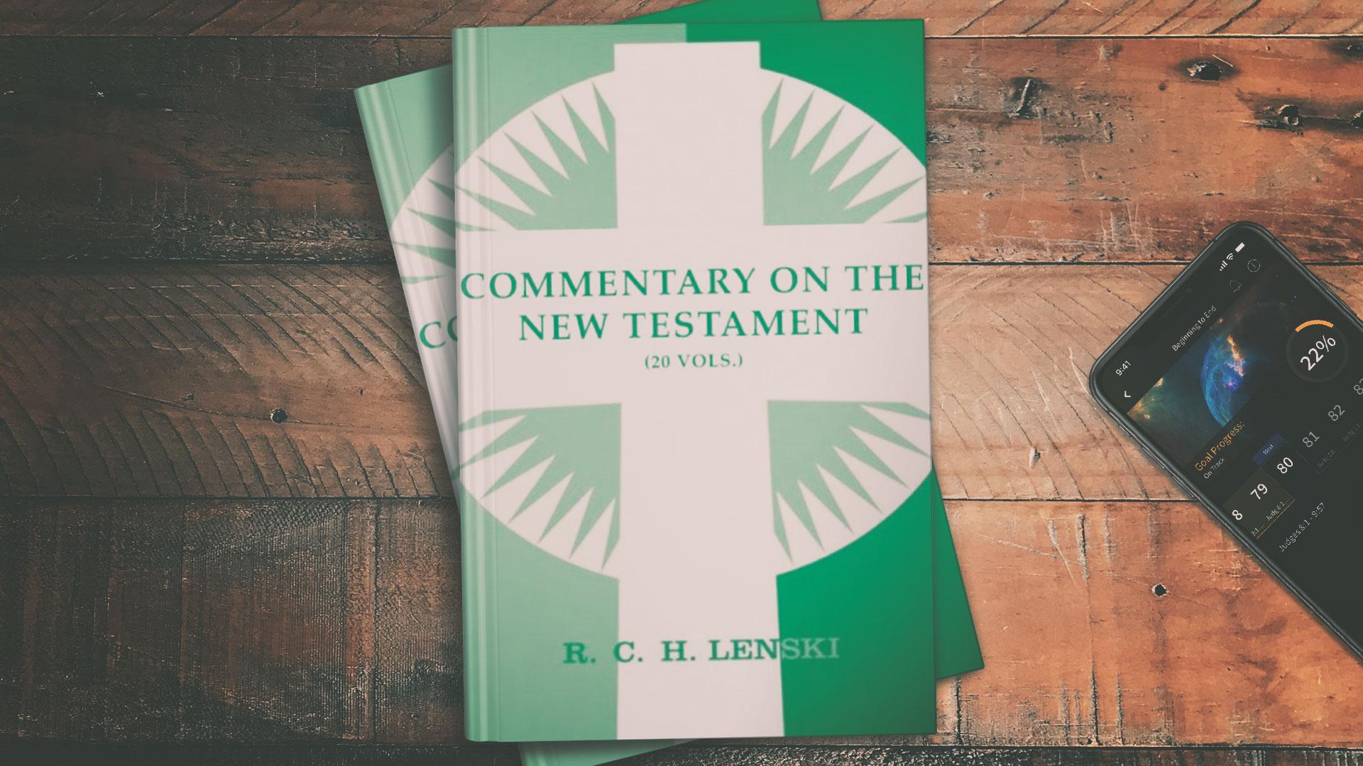 commentary on the New Testament Lenski