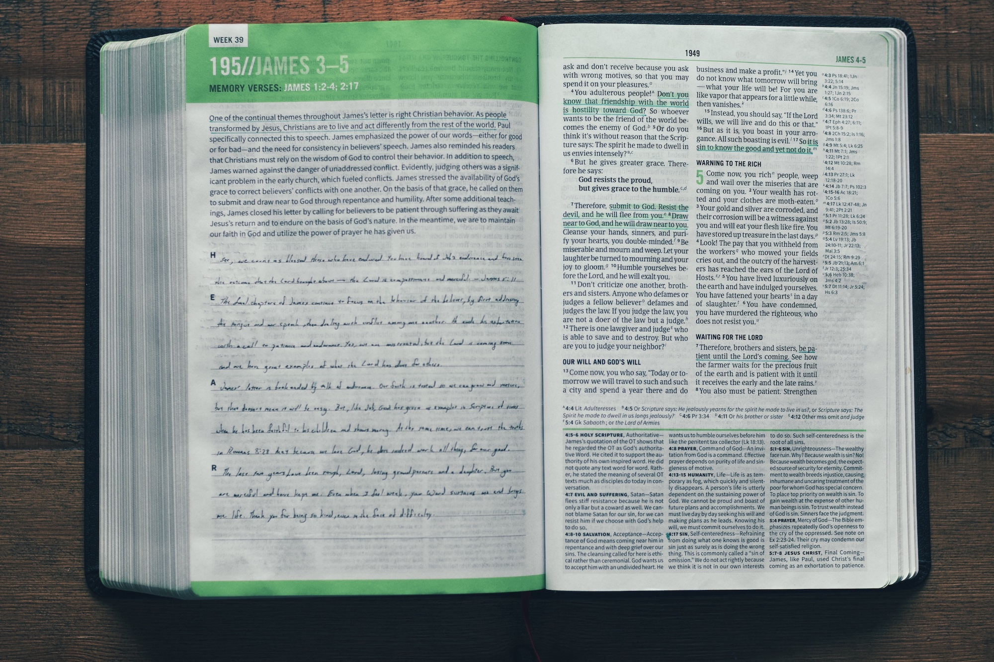 HEAR Journaling CSB Disciples Study Bible