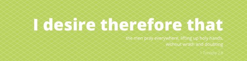 1 Timothy 2:8