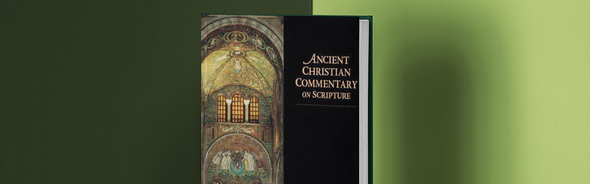 Ancient Christian Commentary on Scripture - used to research Gregory the Great
