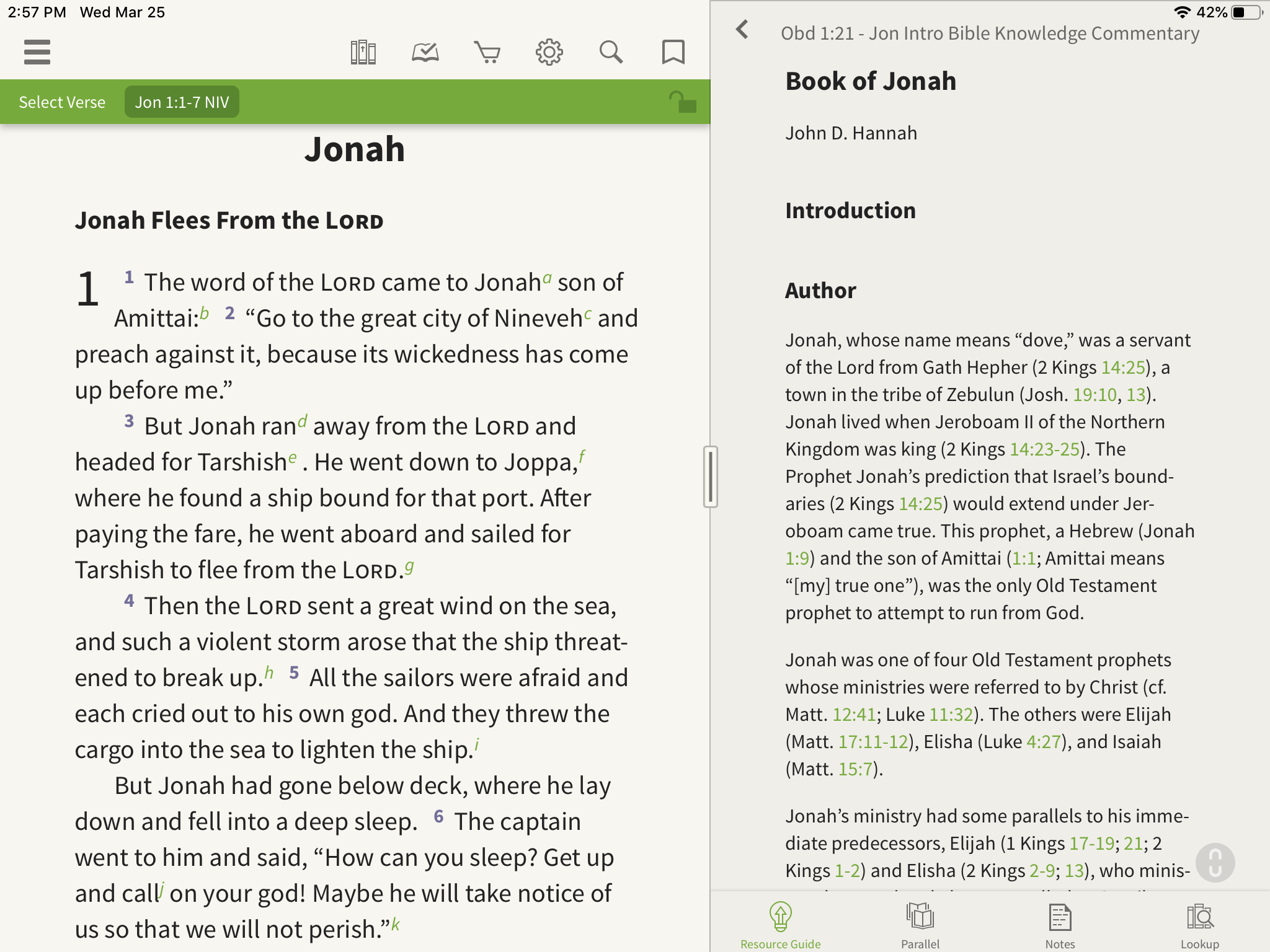 Introduction to the Book of Jonah